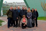 Aniridia Europe Science comitee and Board of Directors, in front on the Veneto Eye Bank in Maestre, Italy